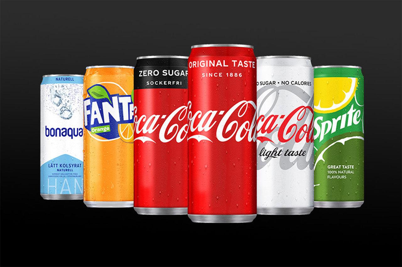 Coca-Cola Sverige lanserar nya burkar