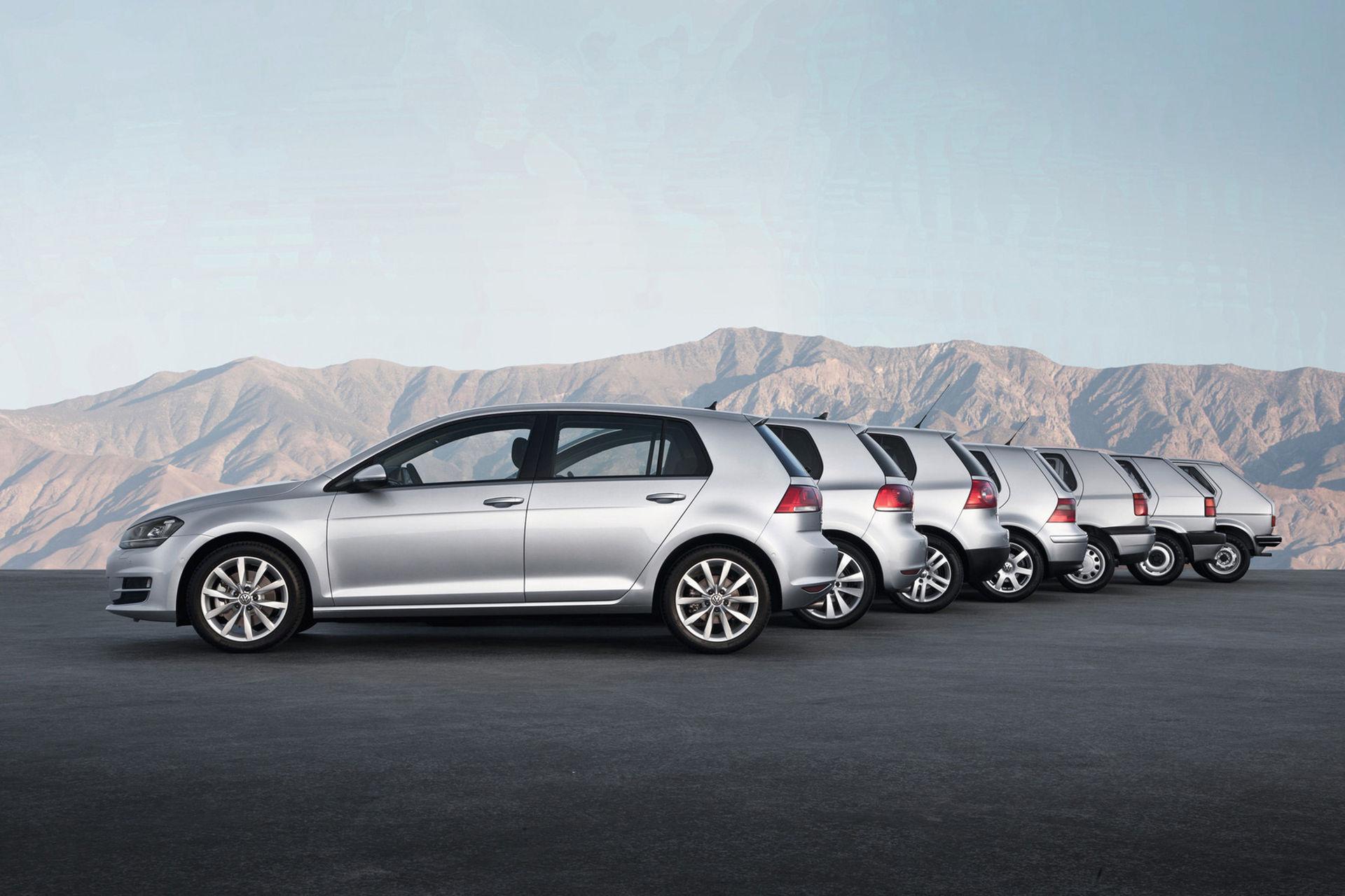 Tut i luren! Idag fyller Volkswagen Golf 45 år!