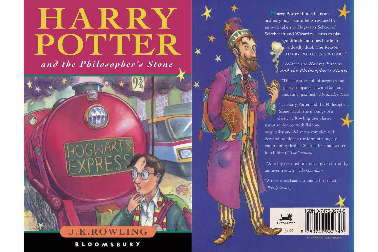 Förstautgåva av Harry Potter-bok gick för över 800.000 kronor