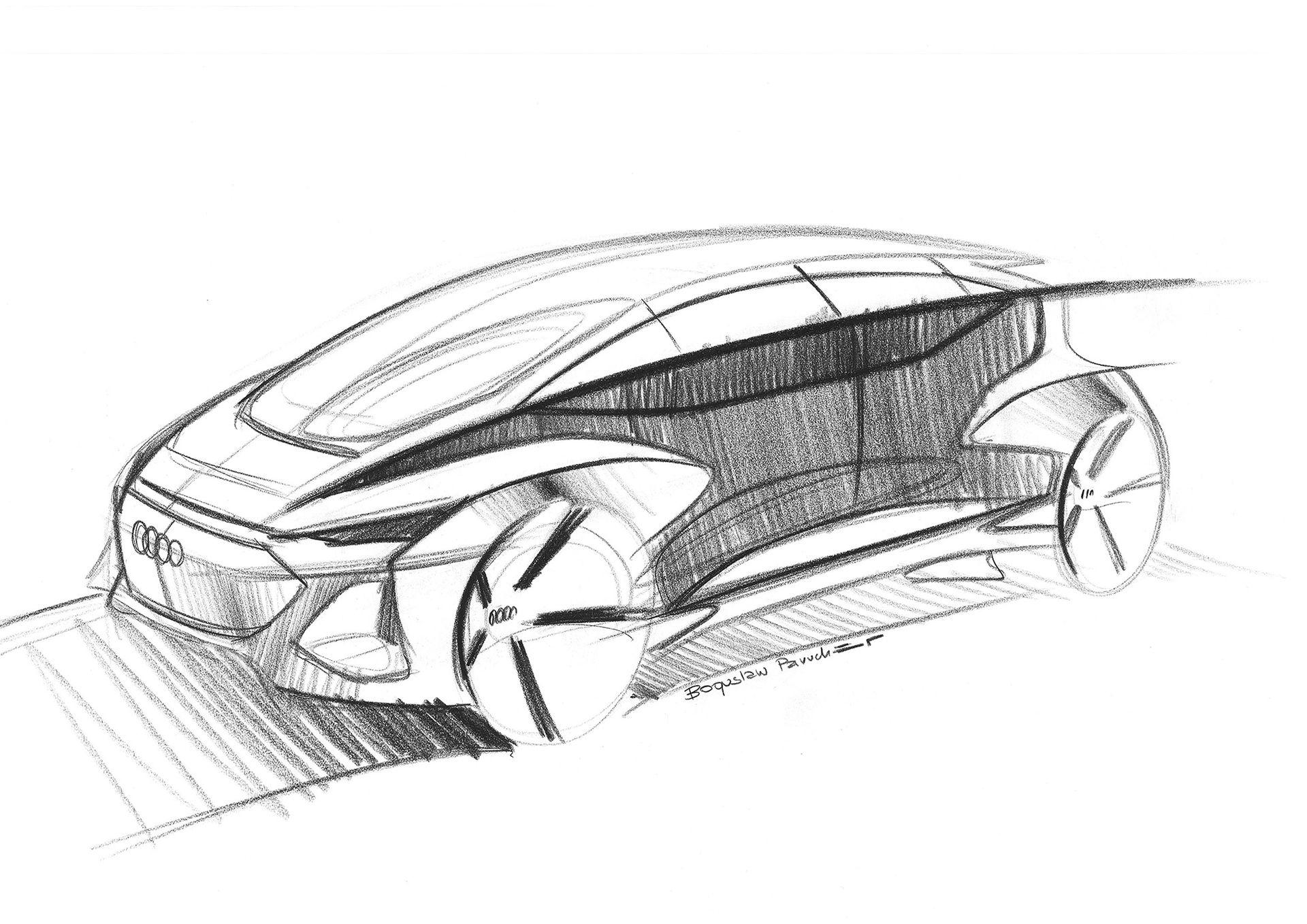 Audi visar skisser på AI:me