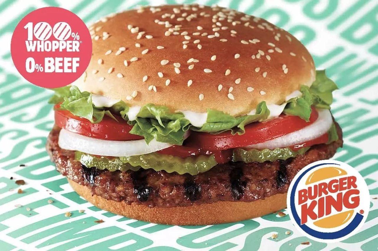 Burger King börjar med köttlösa hamburgare