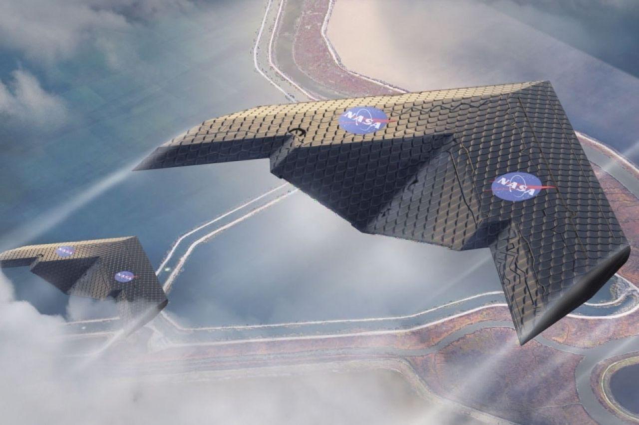 NASA och MIT har utvecklat en ny typ av flygplansvinge