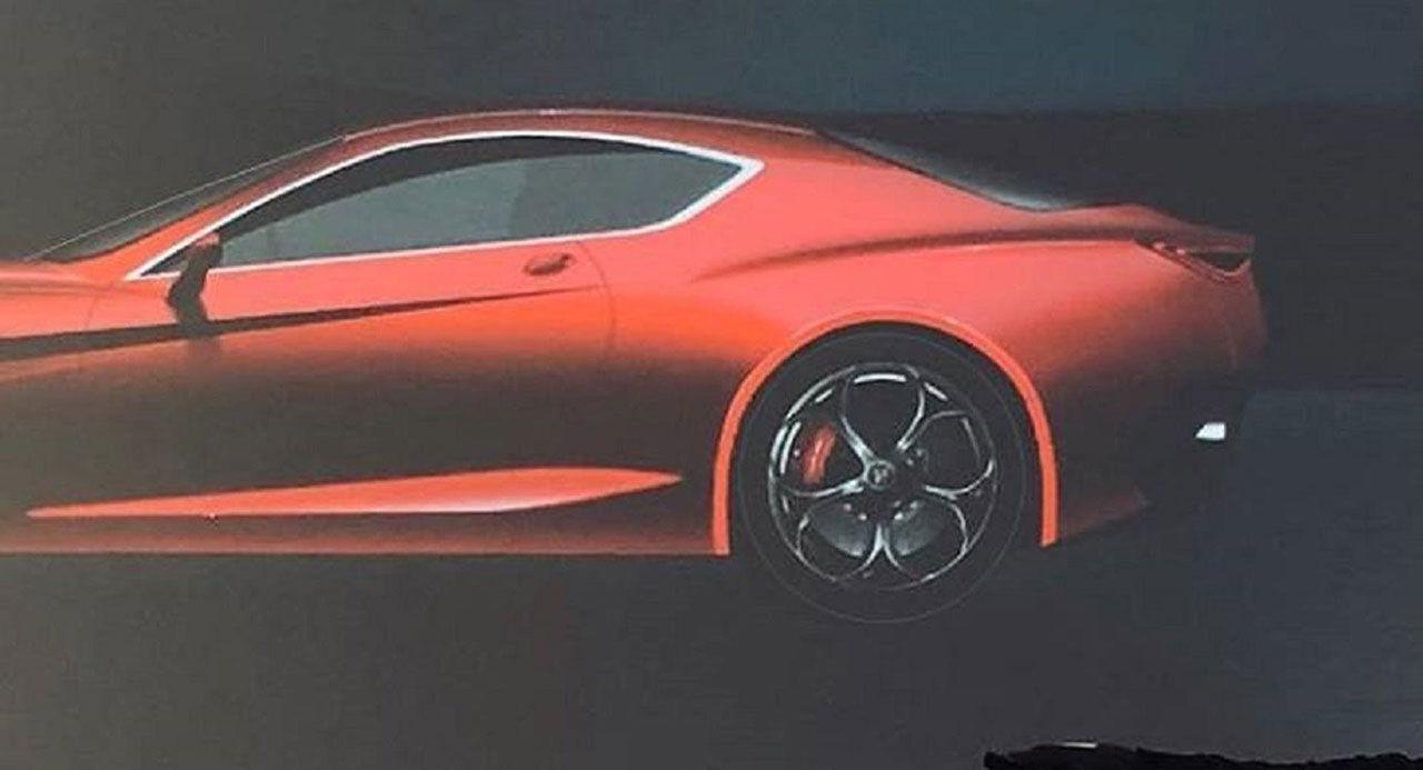 Det här kan vara nya Alfa Romeo GTV