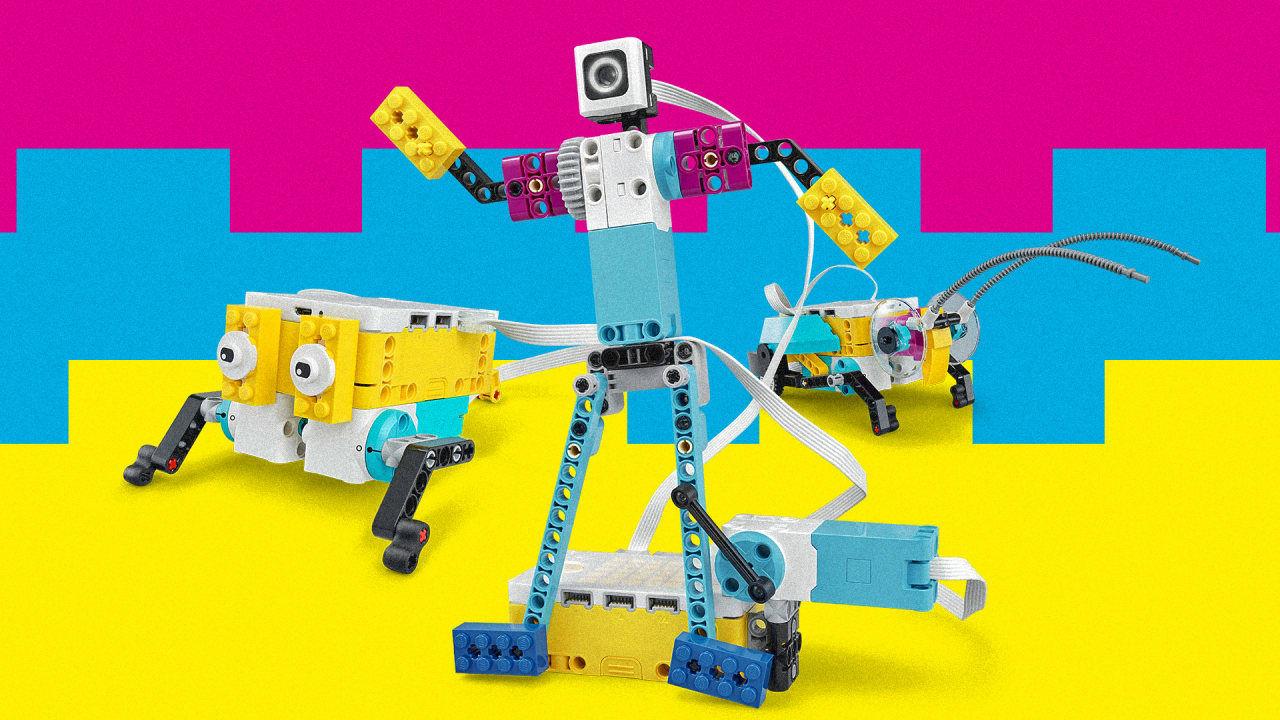 LEGO släpper byggsats för att bygga robotar