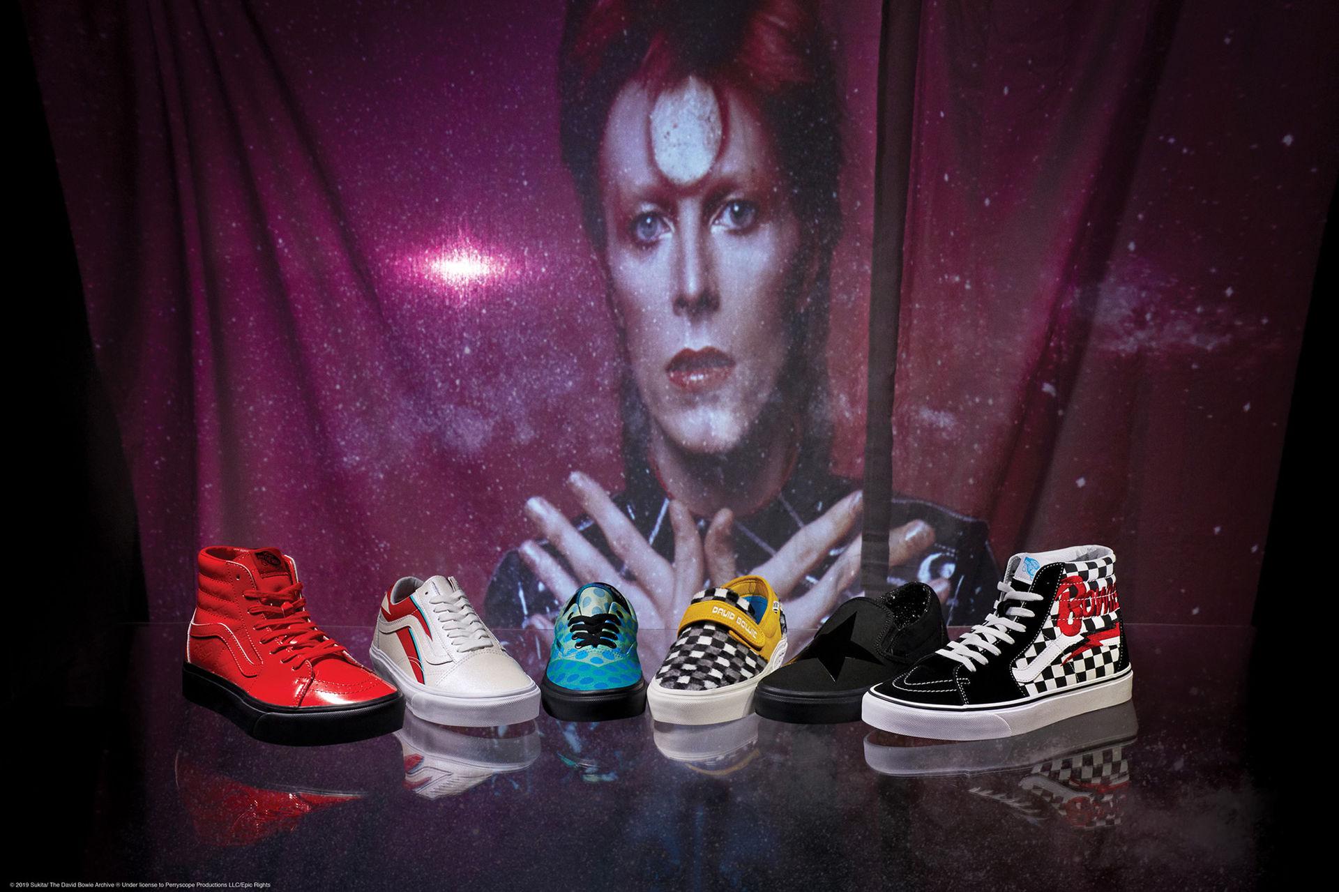 Vans hyllar David Bowie