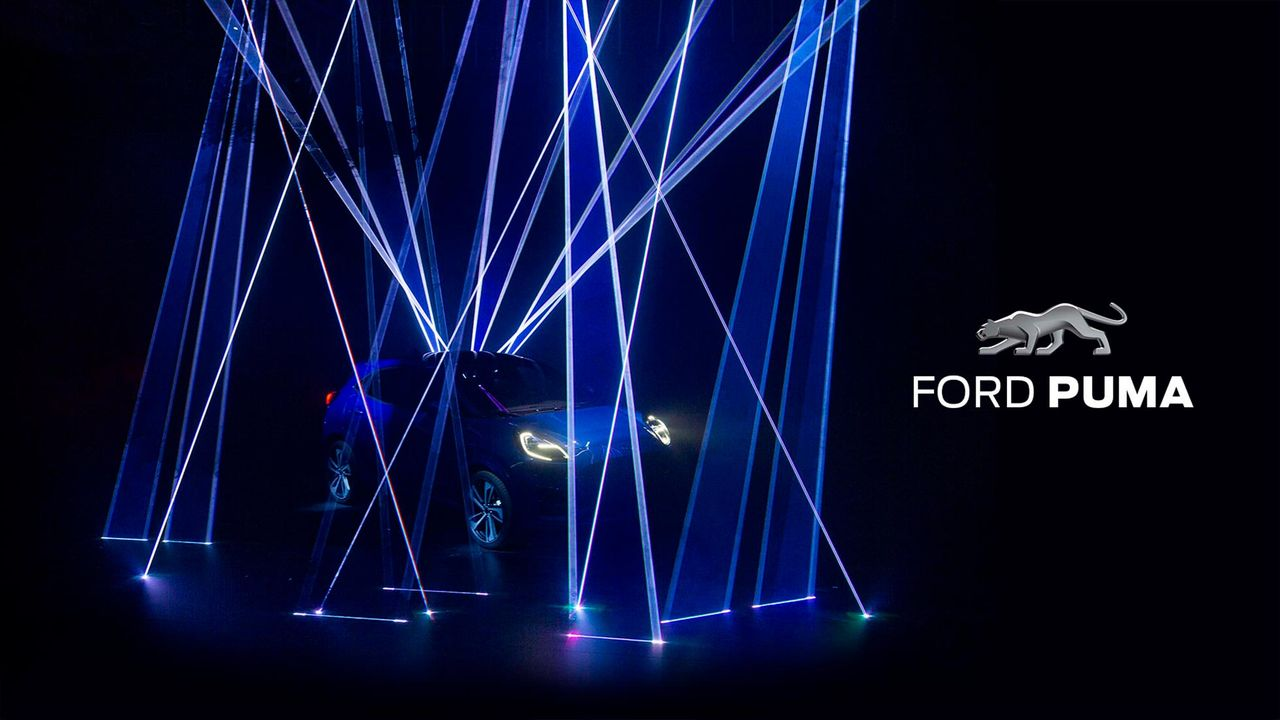 Ford smygvisar nya Puma