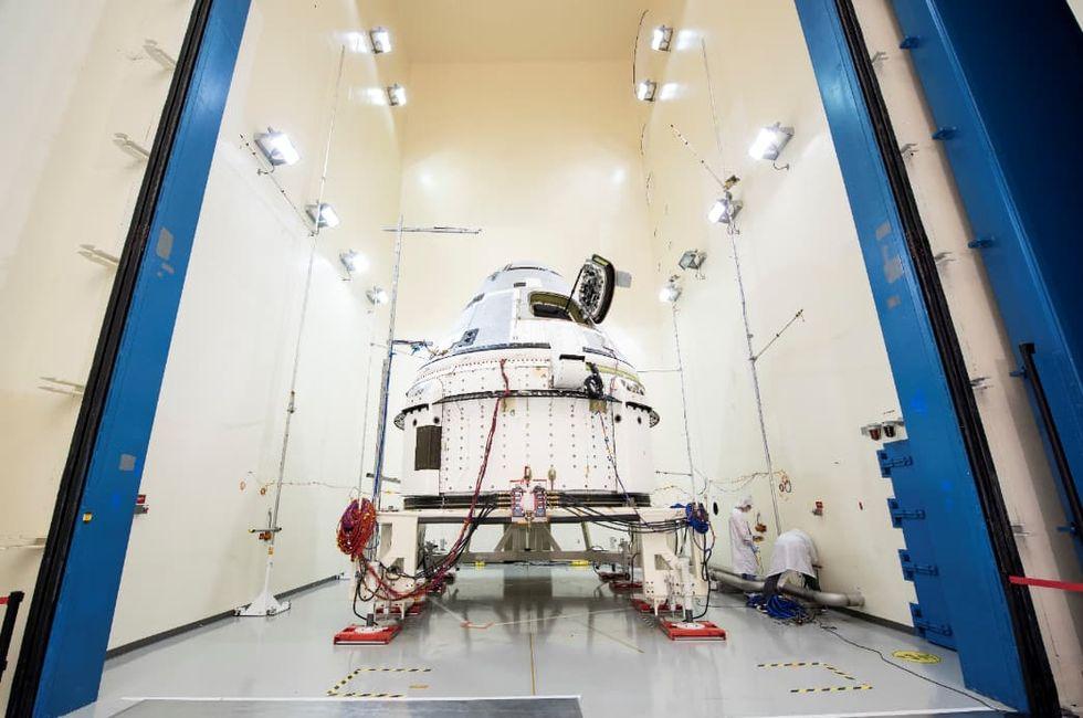Test av Starliner flyttas fram