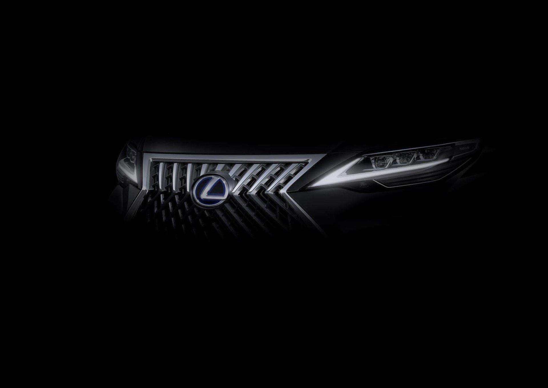 Teaser för ny Lexus-modell