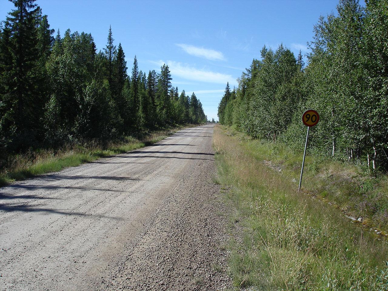 Norrland har sämst vägar i Sverige