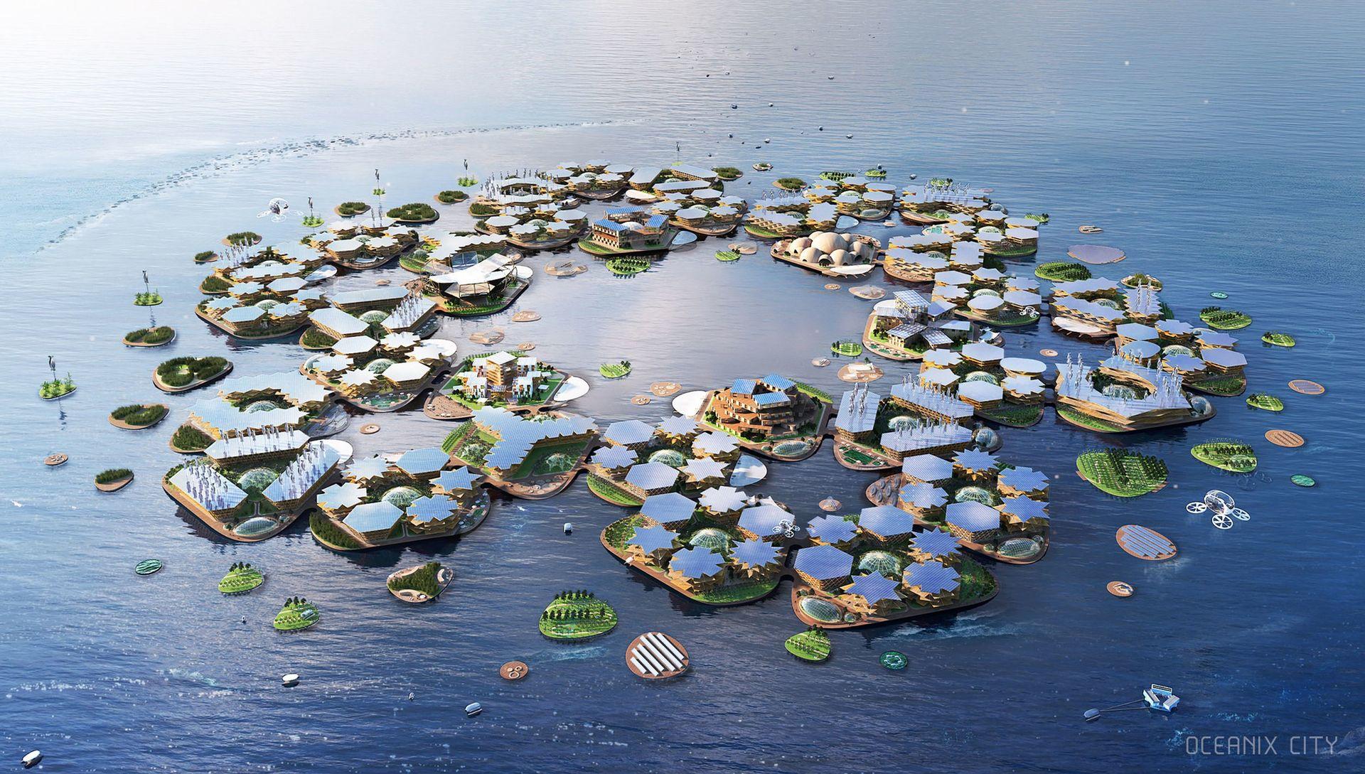 Oceanix City vill bygga flytande städer