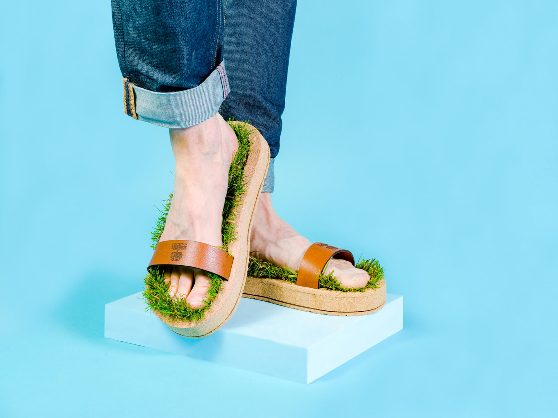 Gräsliga sandaler från Somersby