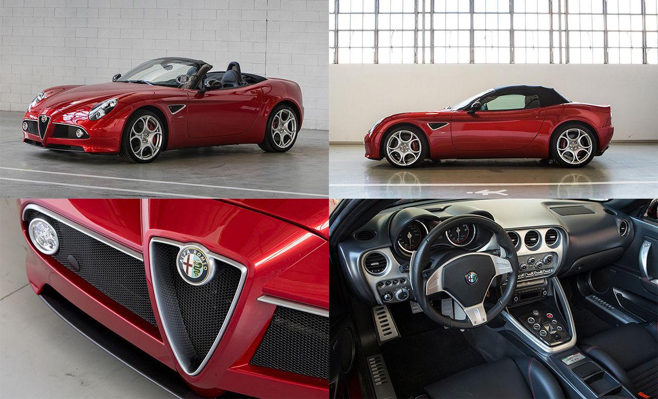 Två stycken nya Alfa Romeo 8C till salu