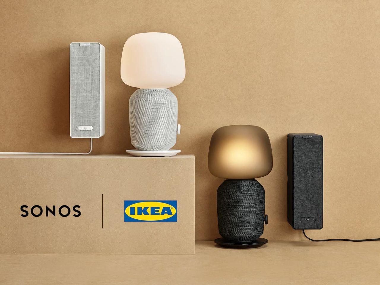 IKEA och Sonos släpper högtalarlampa