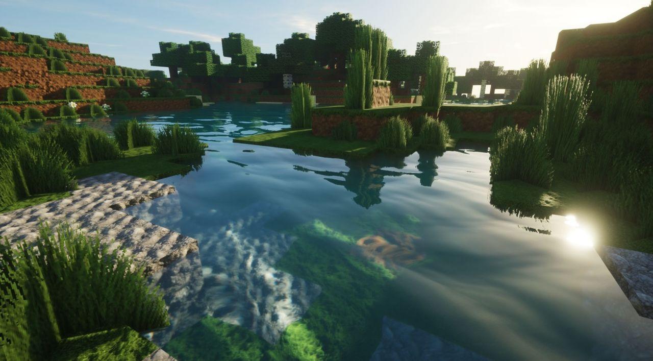 Kolla in lite schyssta grafikeffekter i Minecraft
