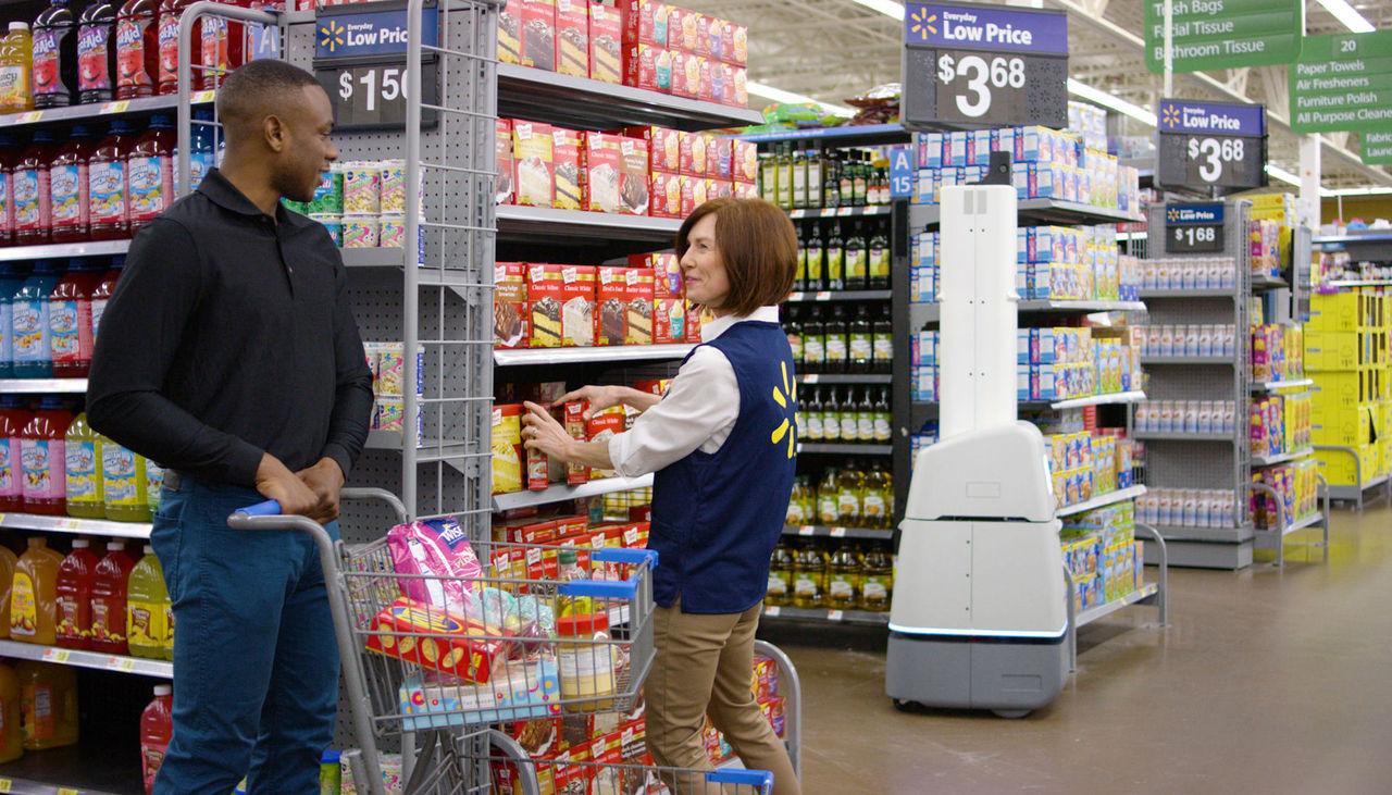 Walmart anställer tusentals robotar