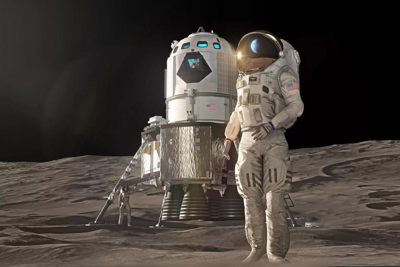 Lockheed Martin visar upp en månlandare