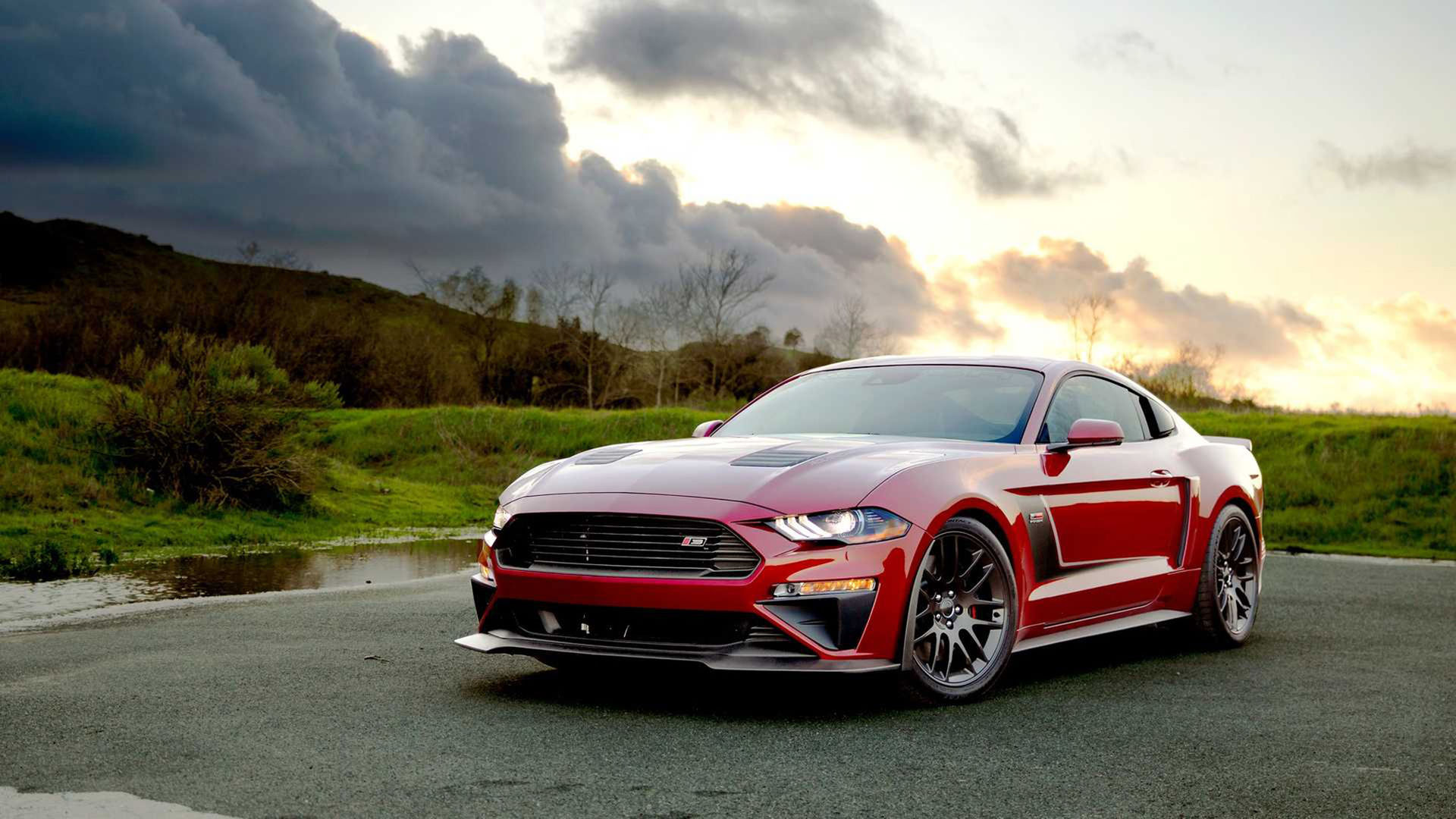Roush pumpar upp Fords modeller Mustang och F-150