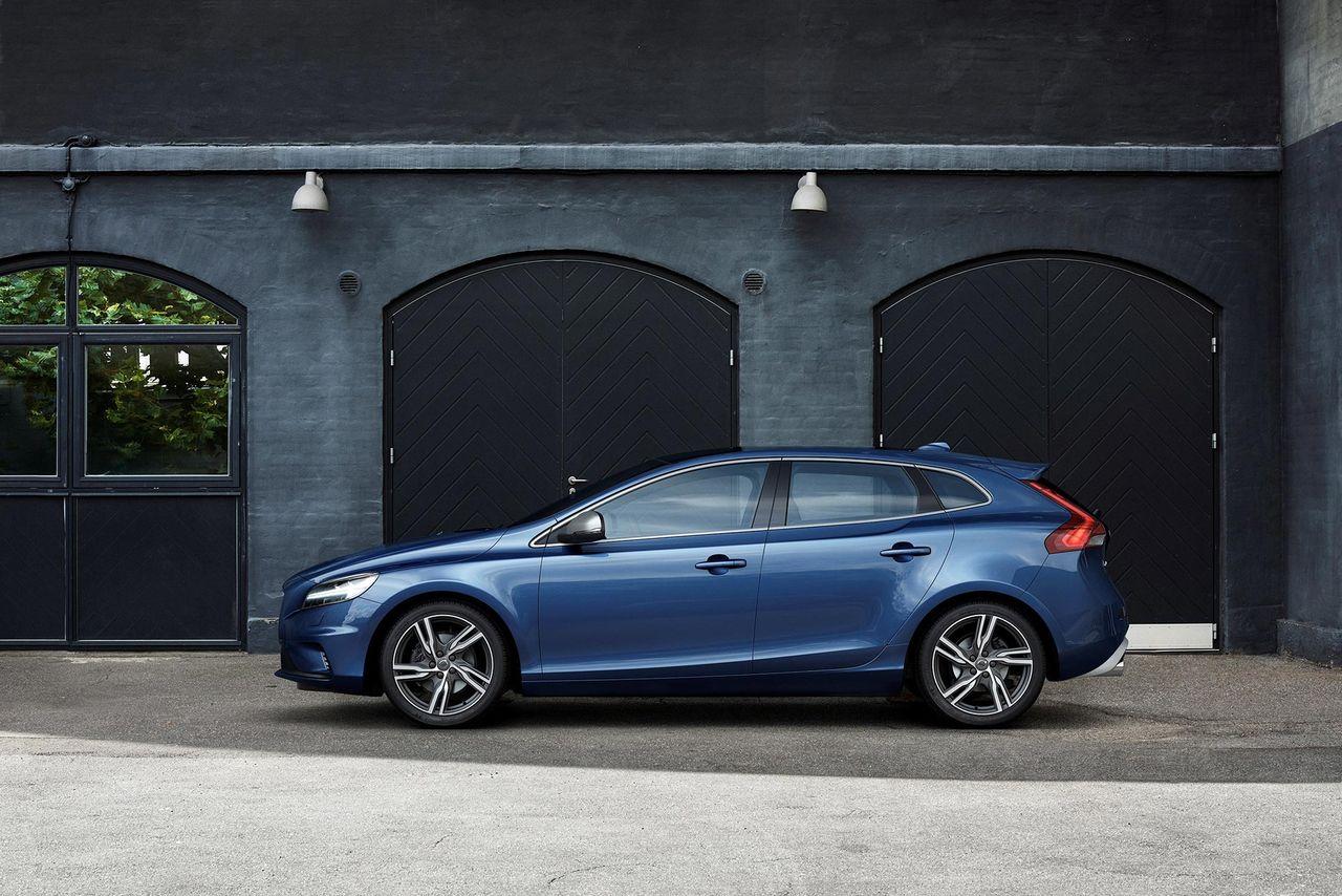 Volvo har plockat bort V40 från hemsidan