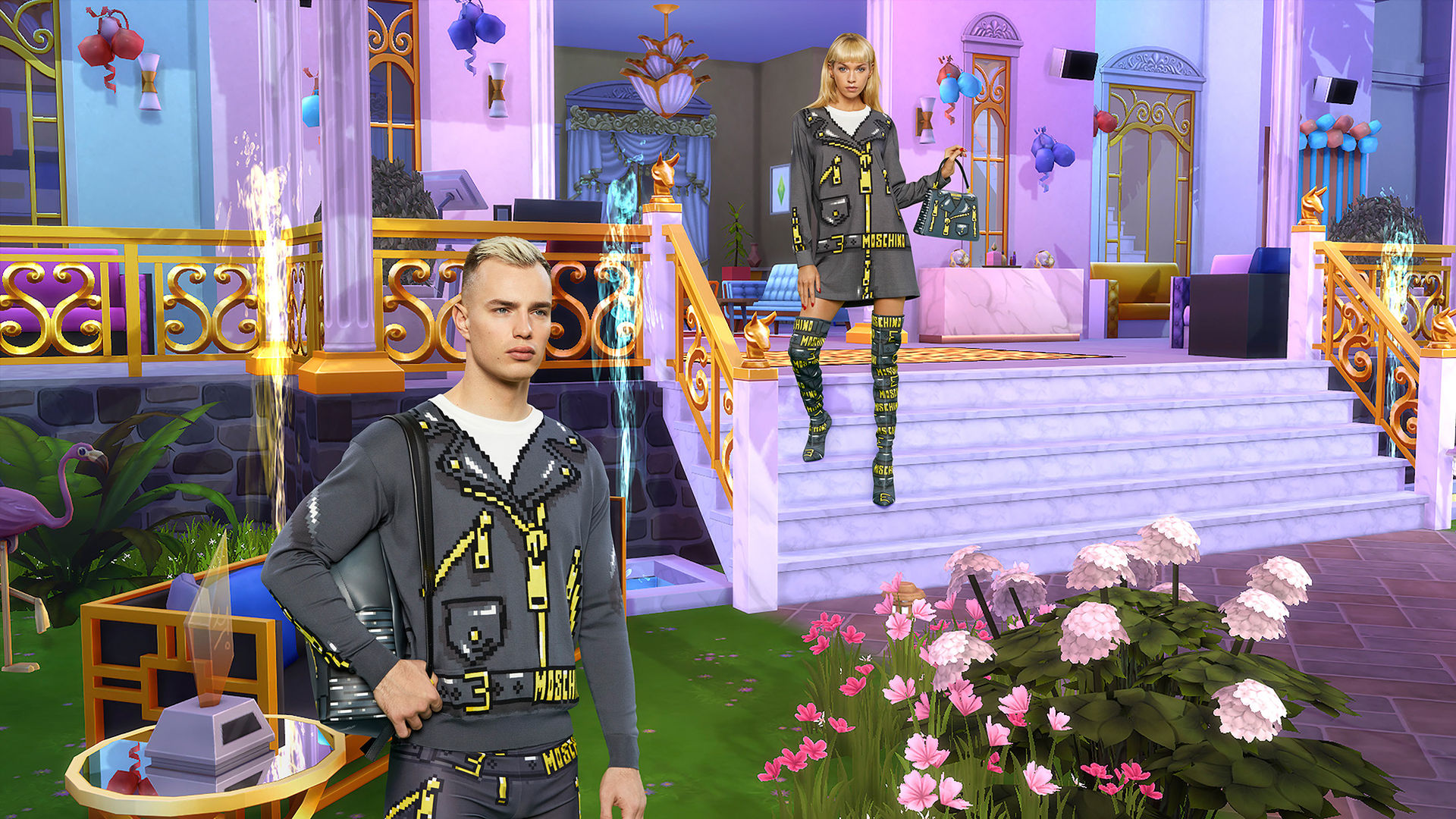 Moschino och The Sims lanserar kollektion