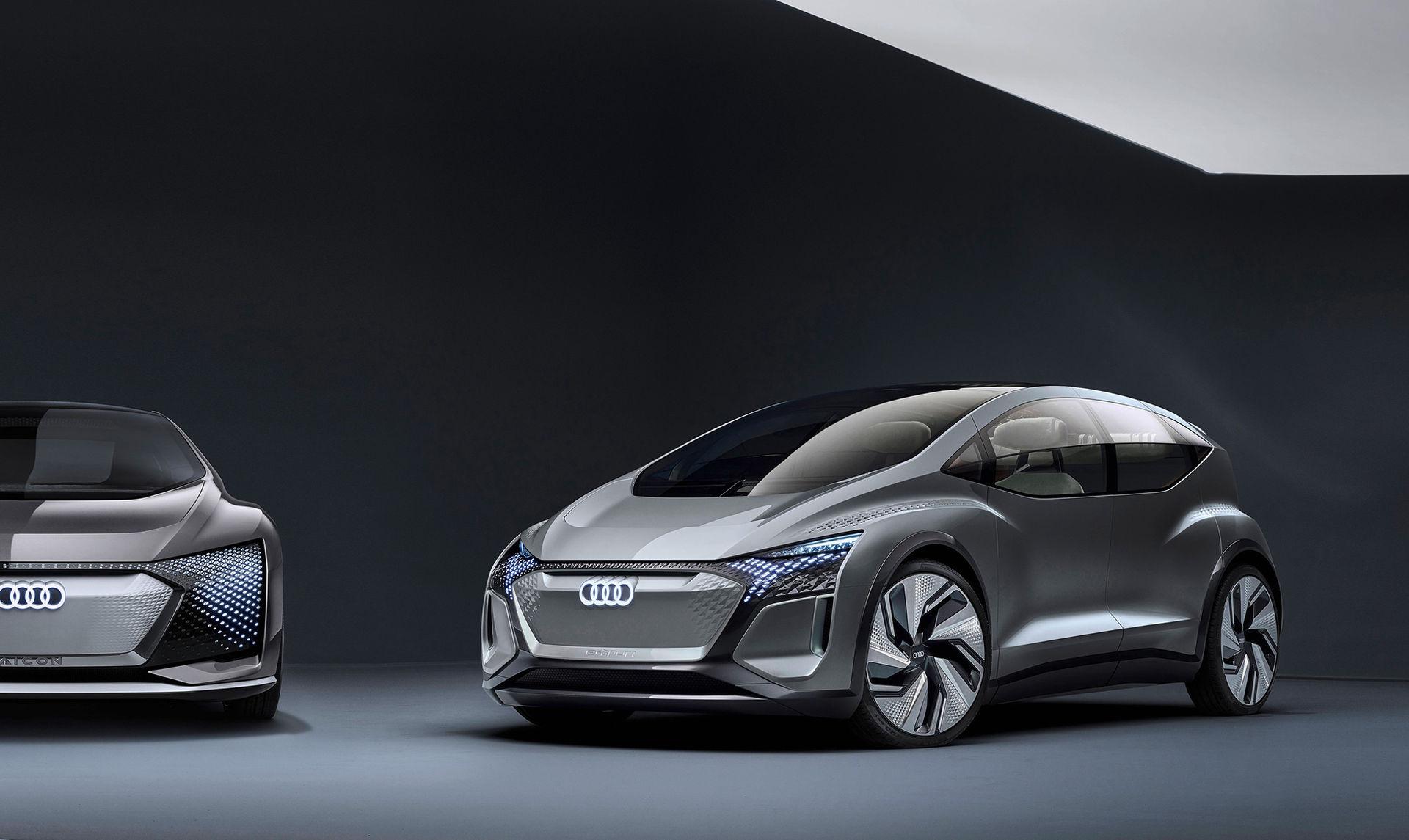 Audi visar lite av framtiden med konceptet AI:ME