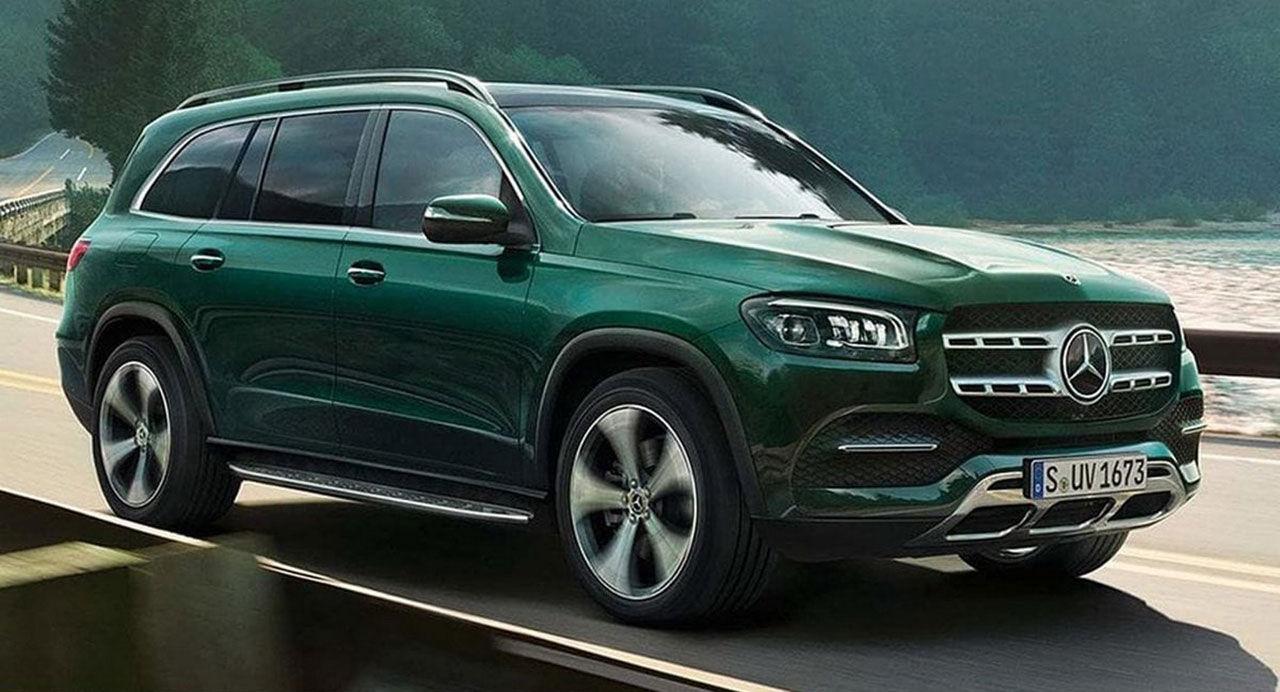 Nya Mercedes GLS läcker ut