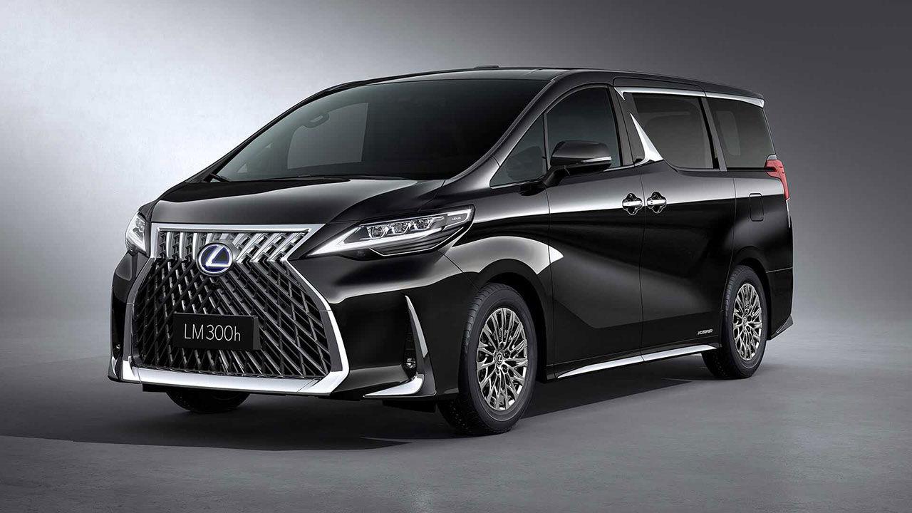Lexus presenterar sin första minibuss