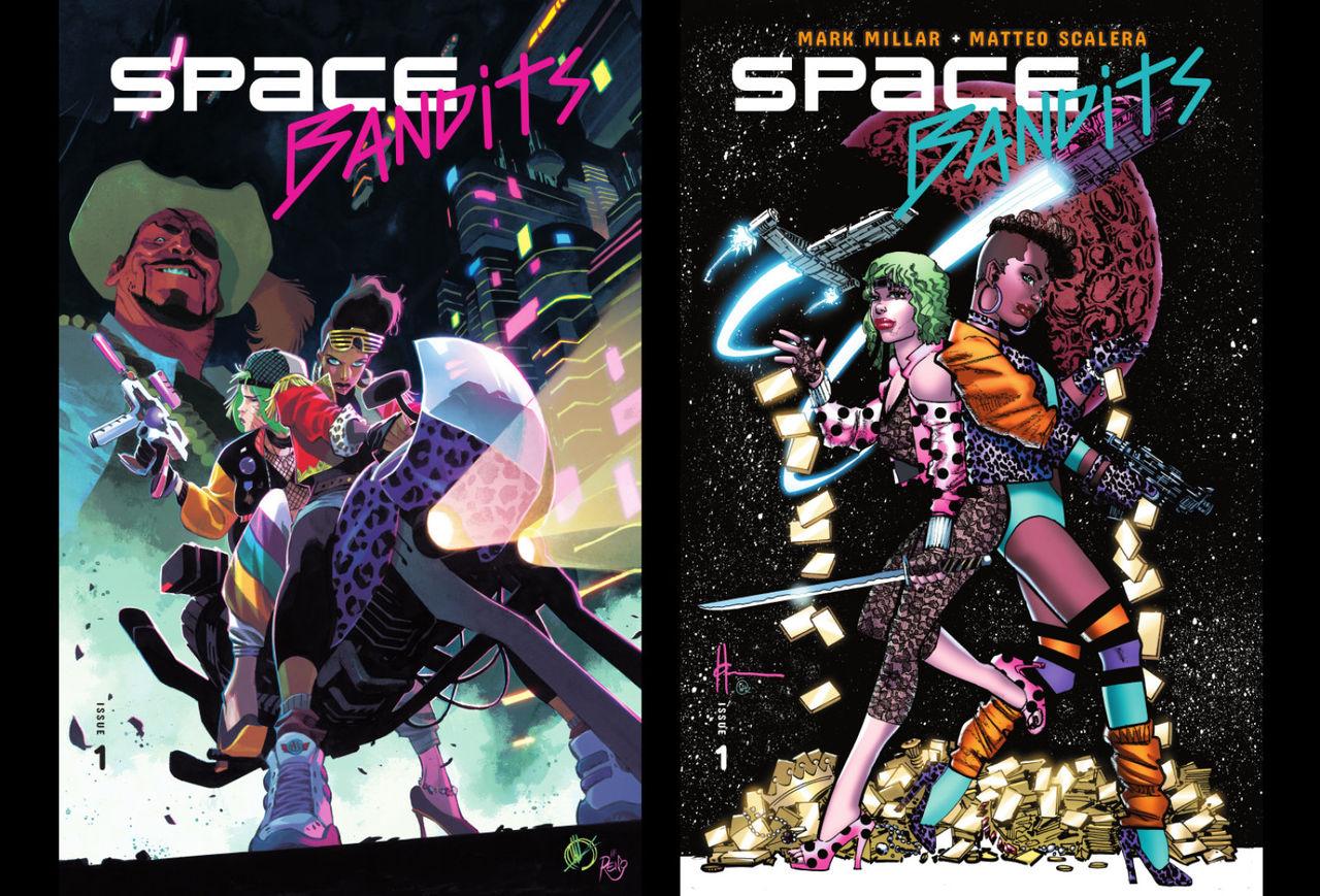 Netflix släpper serietidningen Space Bandits
