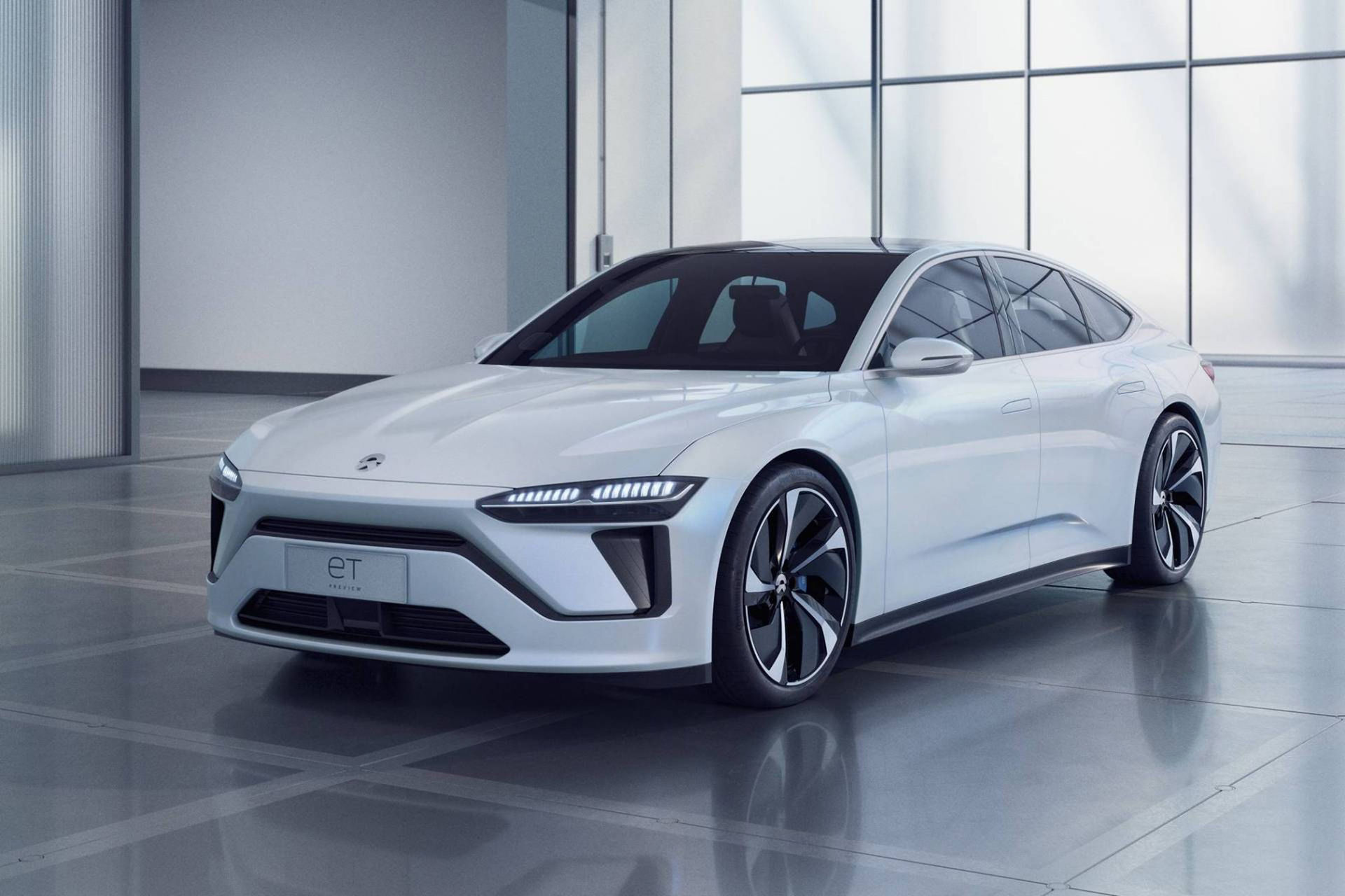 Nio visar nya eldrivna konceptbilen ET Preview