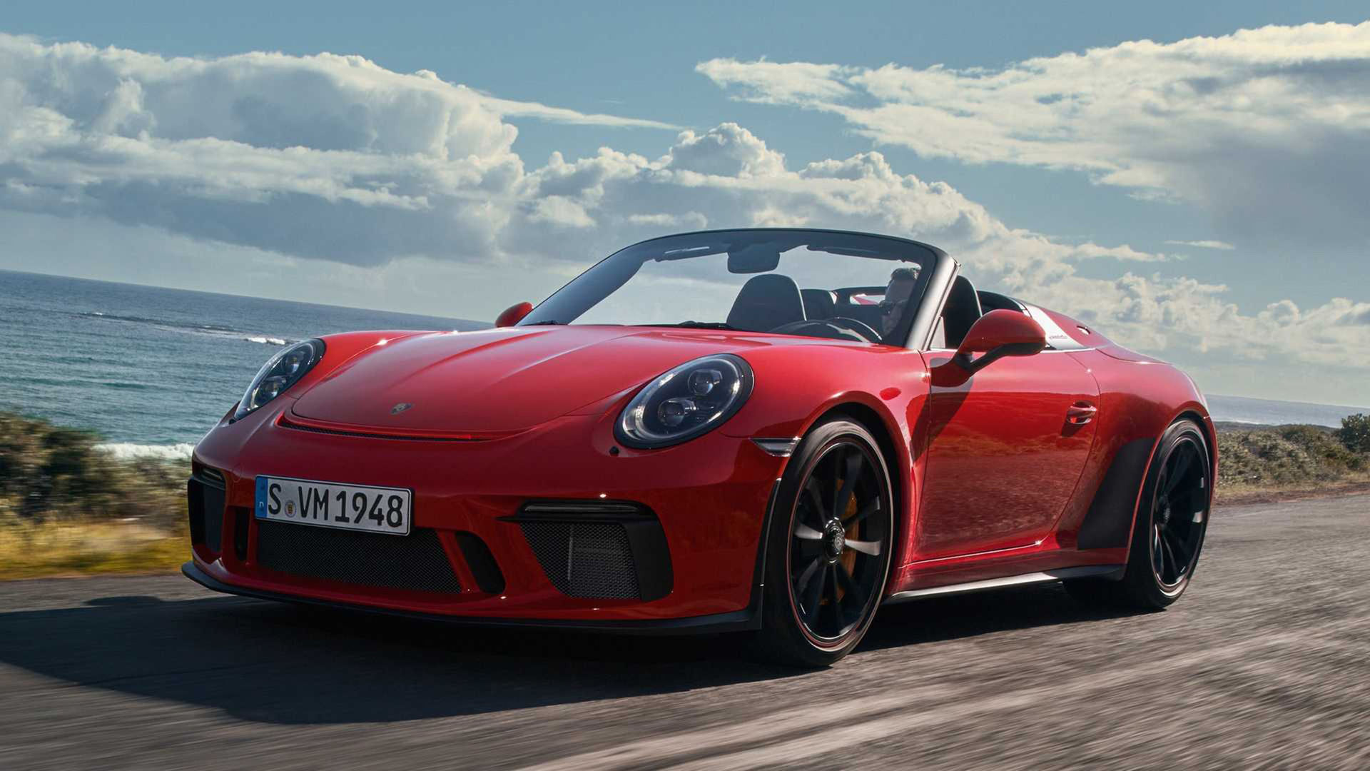 Porsche presenterar nya 911 Speedster