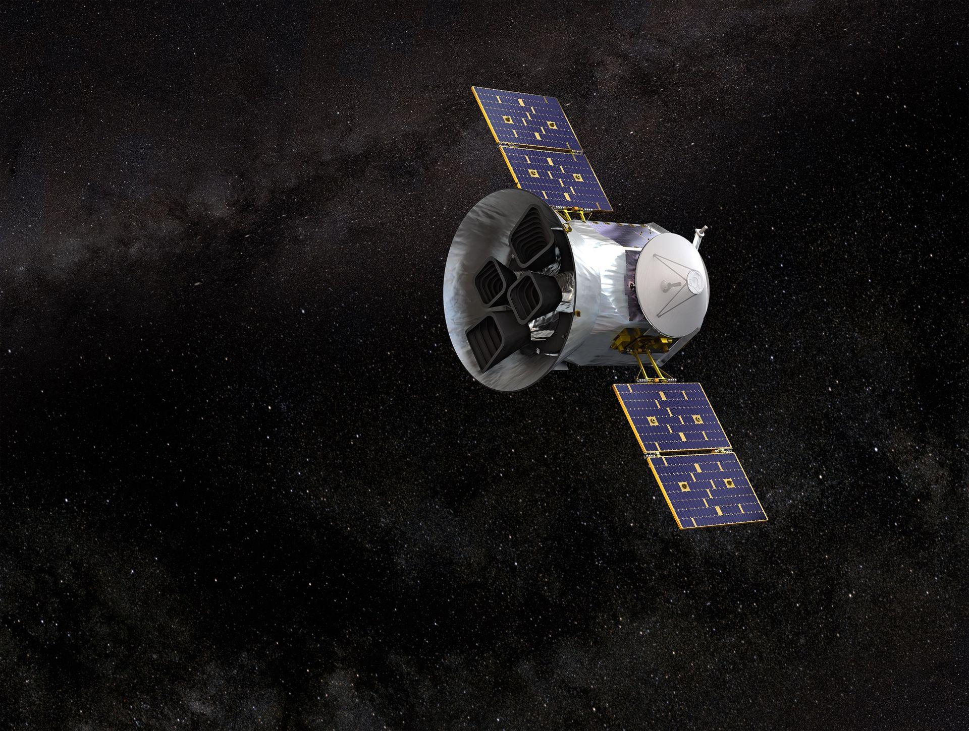 TESS har hittat en första exoplanet som är lika stor som jorden