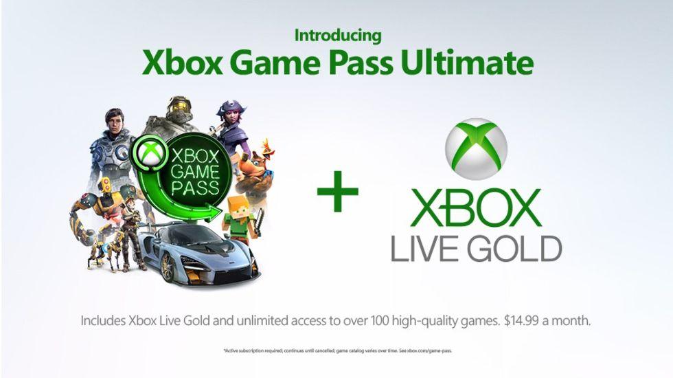 Microsoft presenterar Xbox Game Pass Ultimate