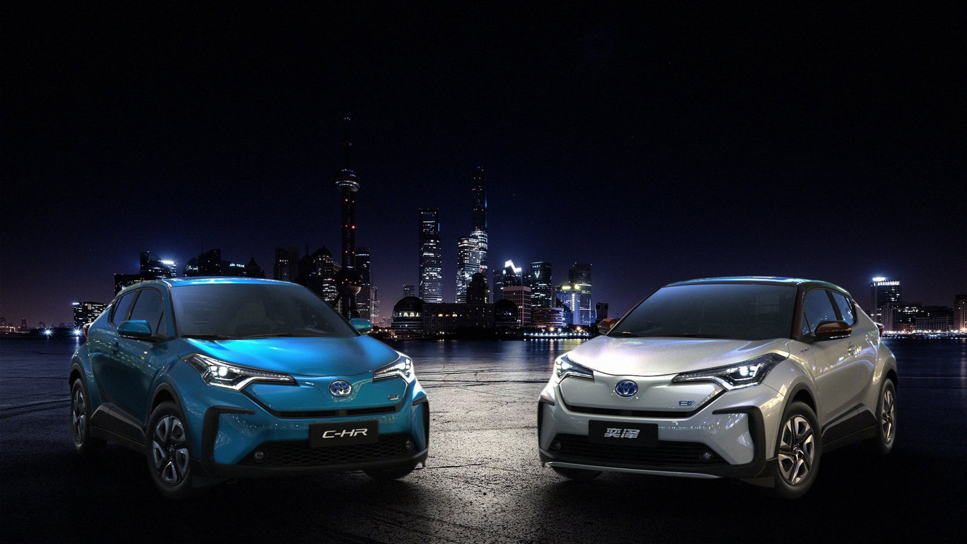 Toyota presenterar eldriven version av C-HR