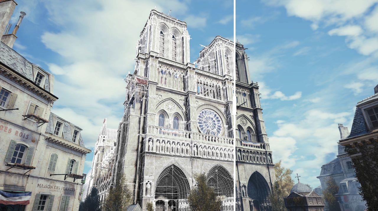 Notre-Dame kanske renoveras efter skisser från Assassin's Creed