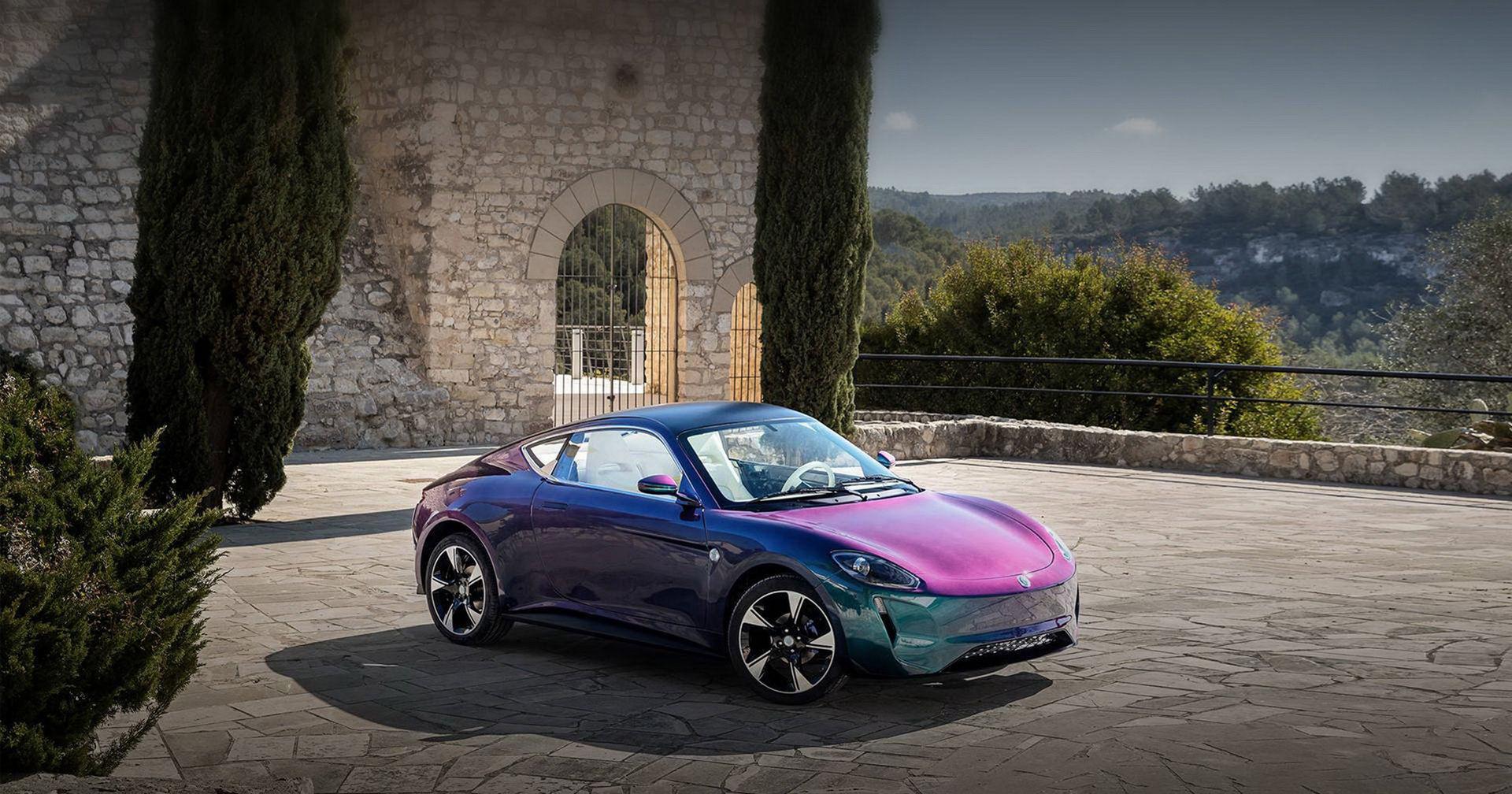 Zedriv visar lilla eldrivna sportbilen GT3