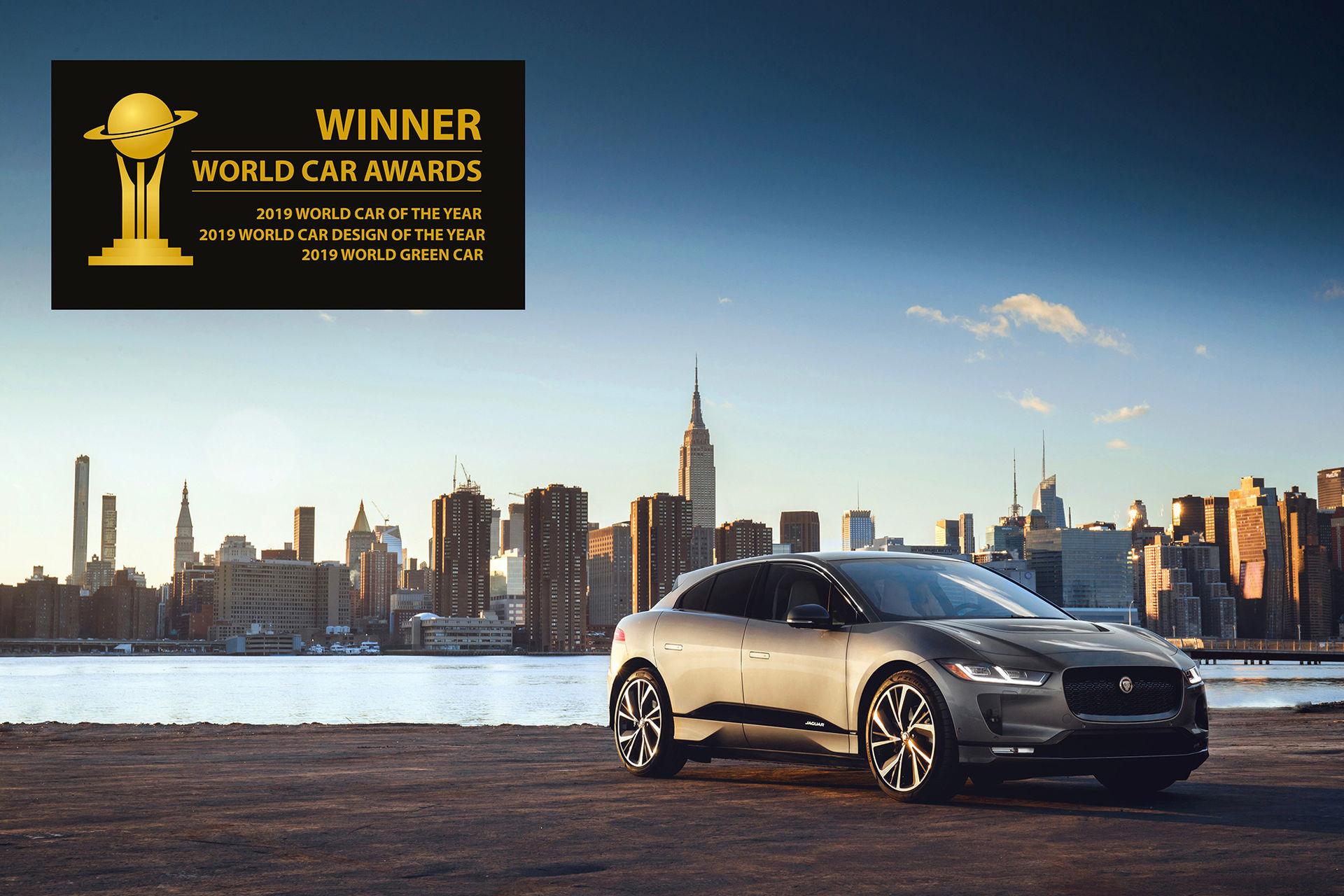 Jaguar I-Pace är World Car of the Year 2019