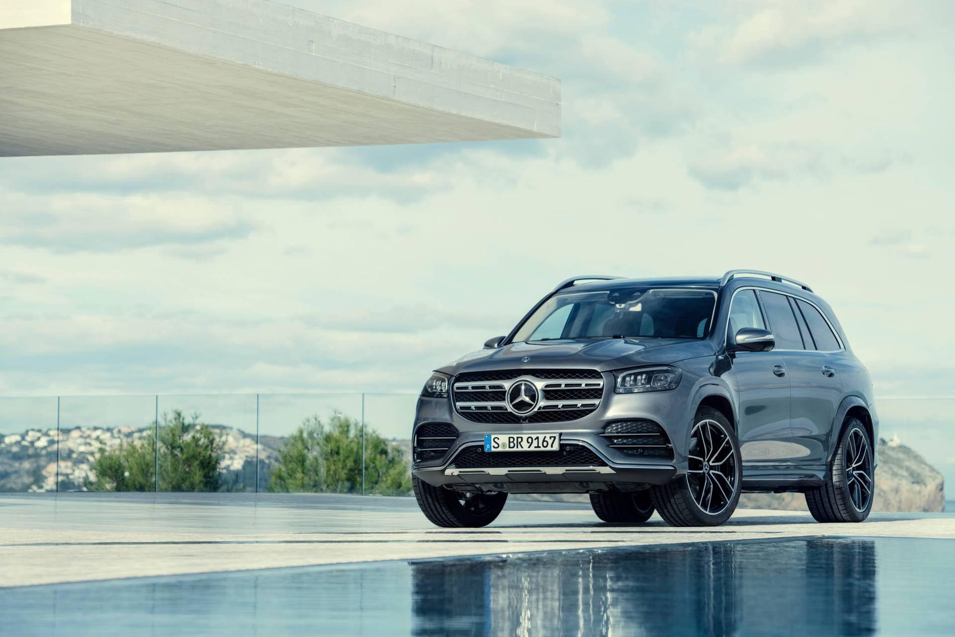 Nya Mercedes GLS har blivit ännu större
