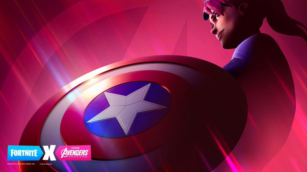 Fortnite kör Avengers: Endgame-event