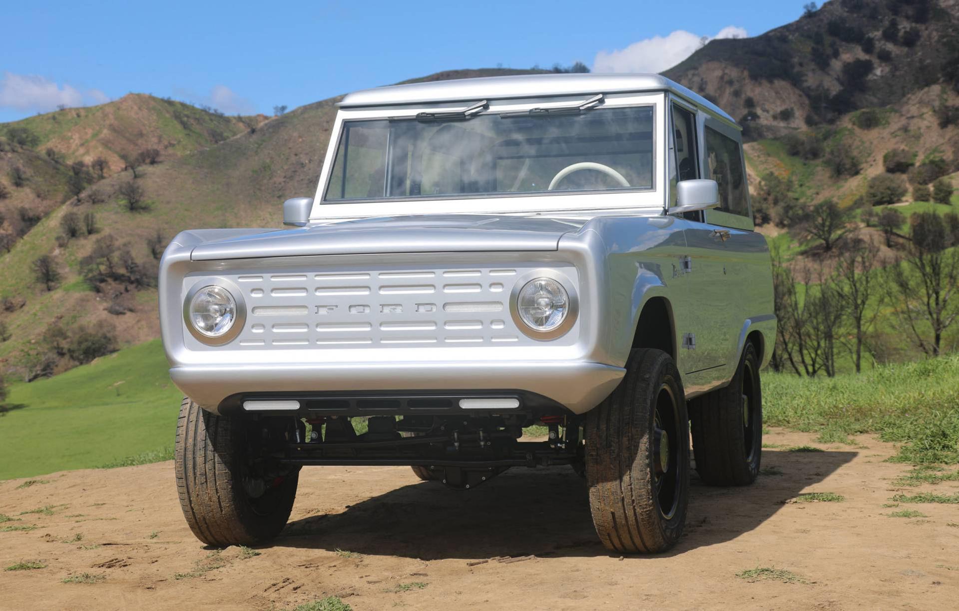 Klassisk Ford Bronco med eldrift