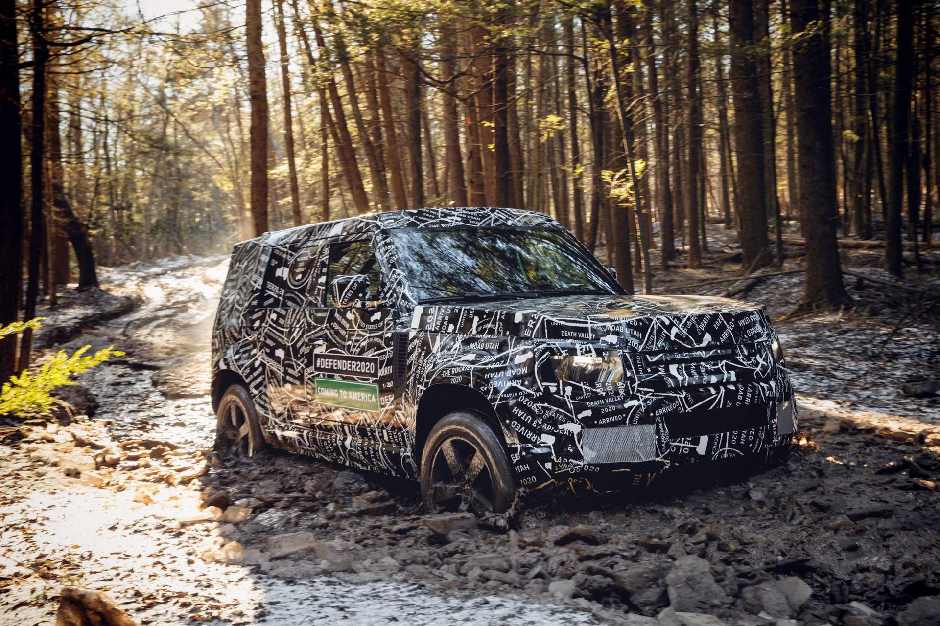 Nya Land Rover Defender presenteras i september