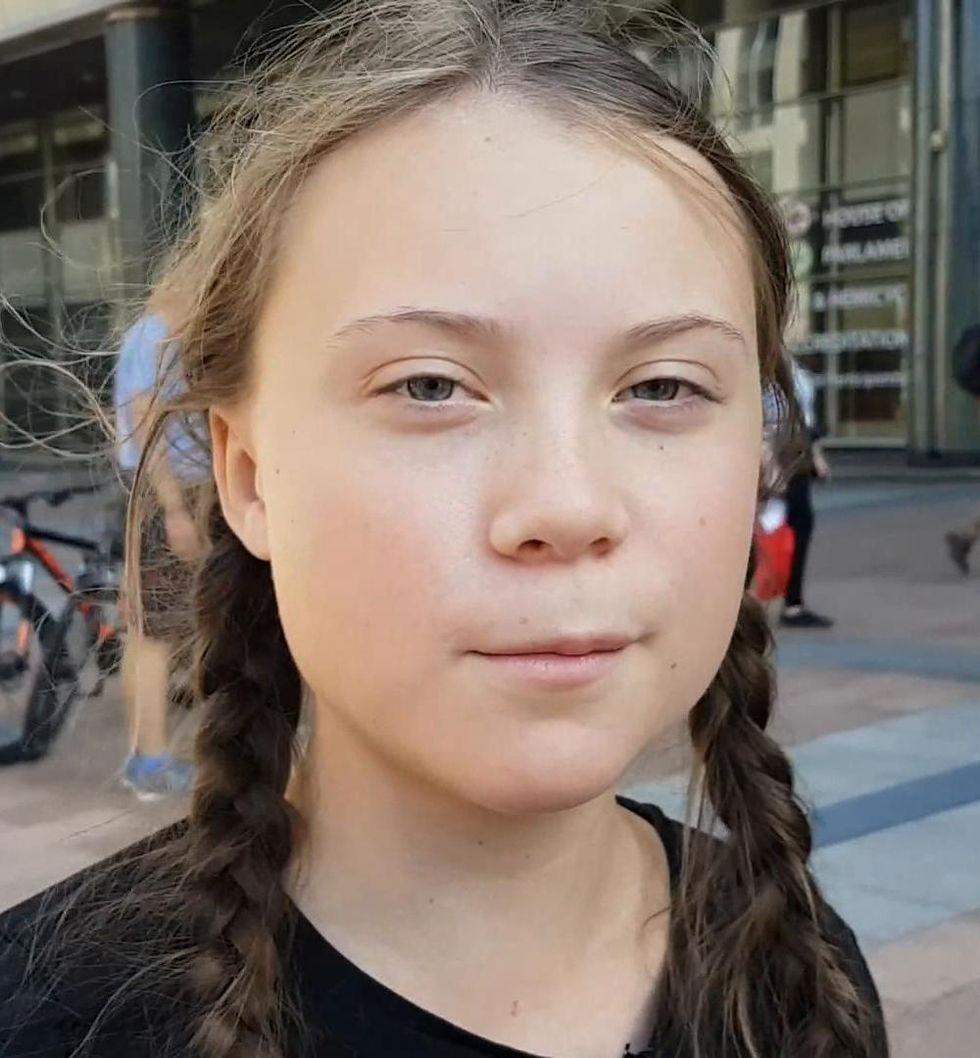 Greta Thunberg vinner en Webby