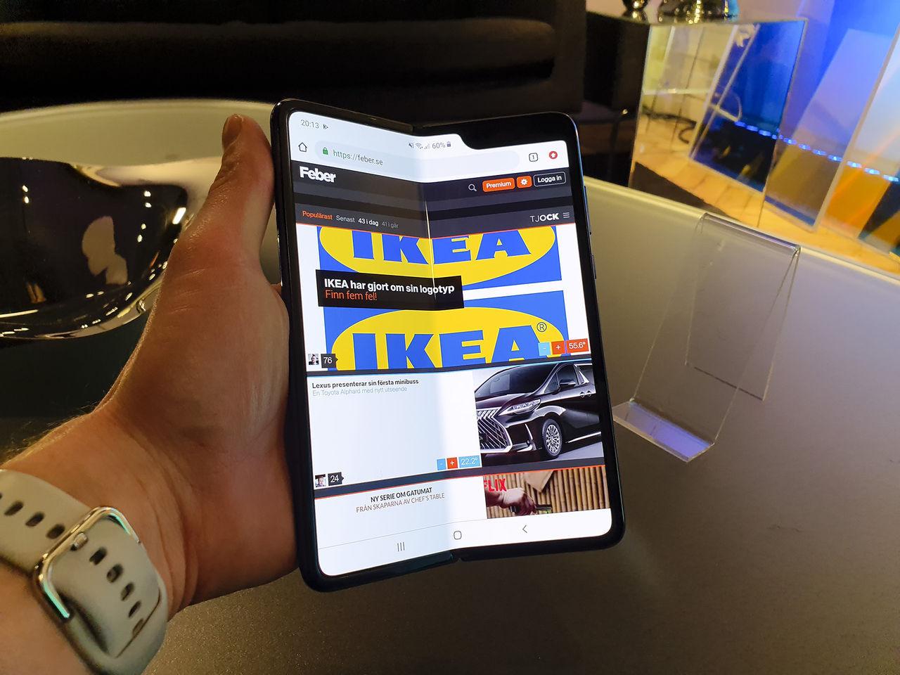 Samsung Galaxy Fold verkar skeppas igen i juni