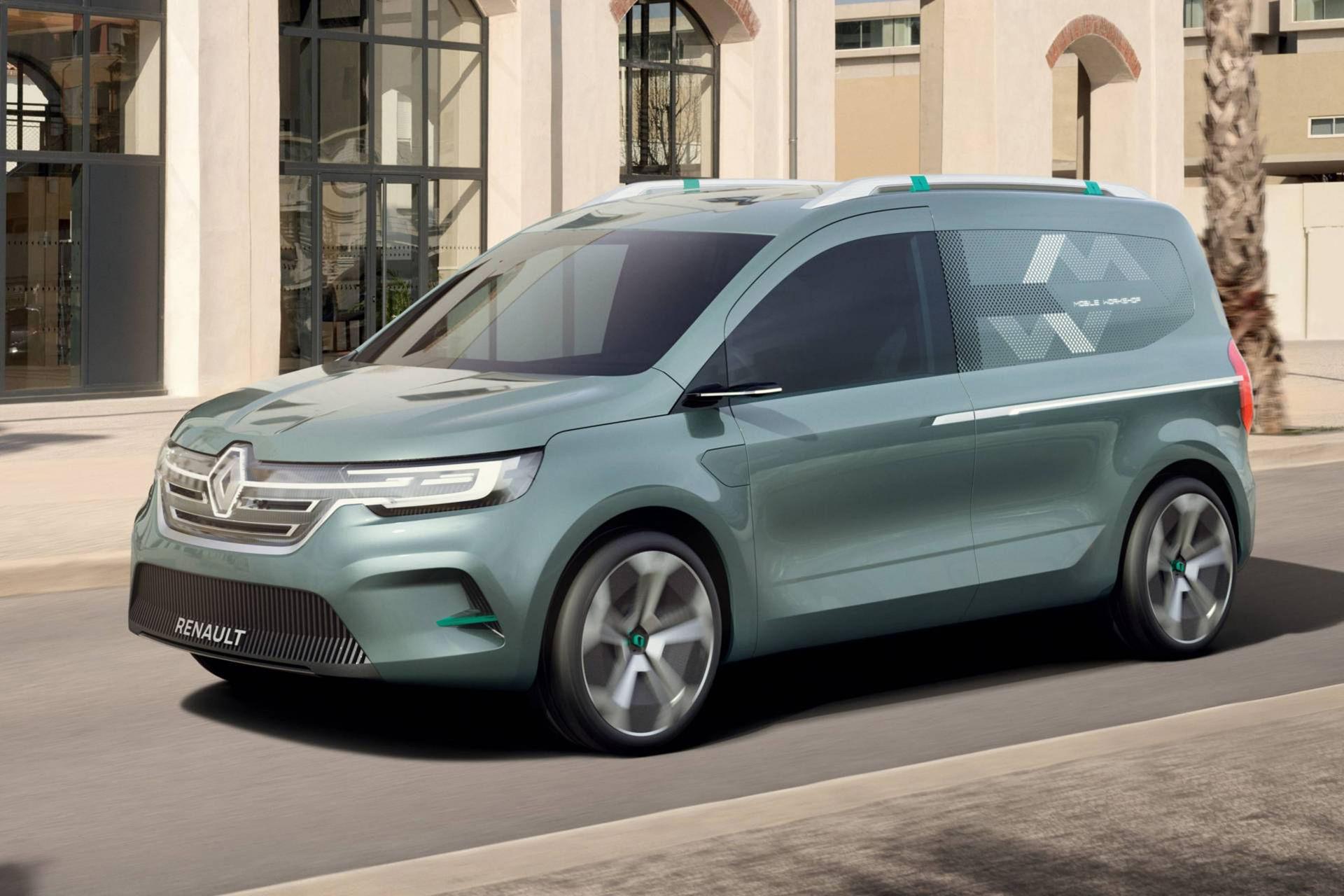 Renault visar ny eldriven Kangoo som koncept