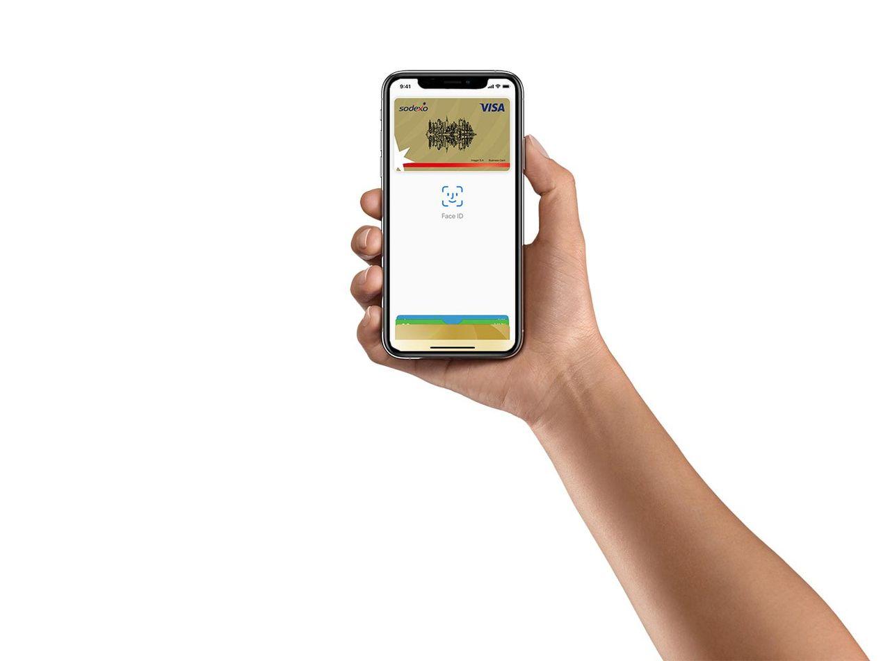 Nu får Sodexo stöd för Apple Pay