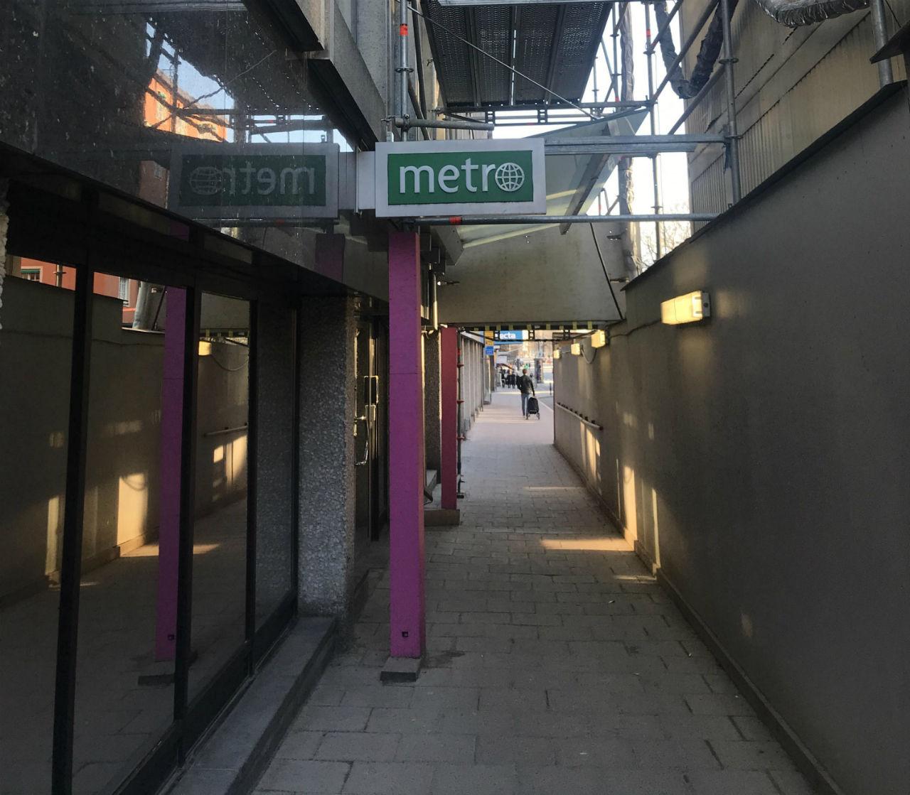 Metro blir en endagstidning