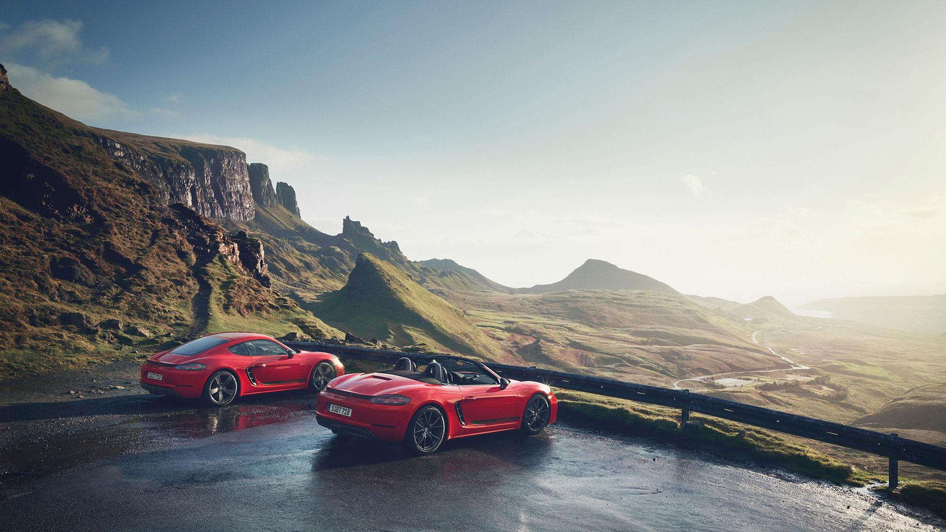 Porsche Boxster och Cayman kommer med ren eldrift