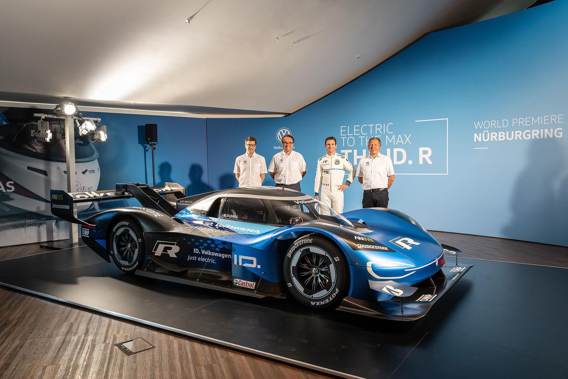 Volkswagen vill slå rekord på Ringen med uppdaterad ID. R