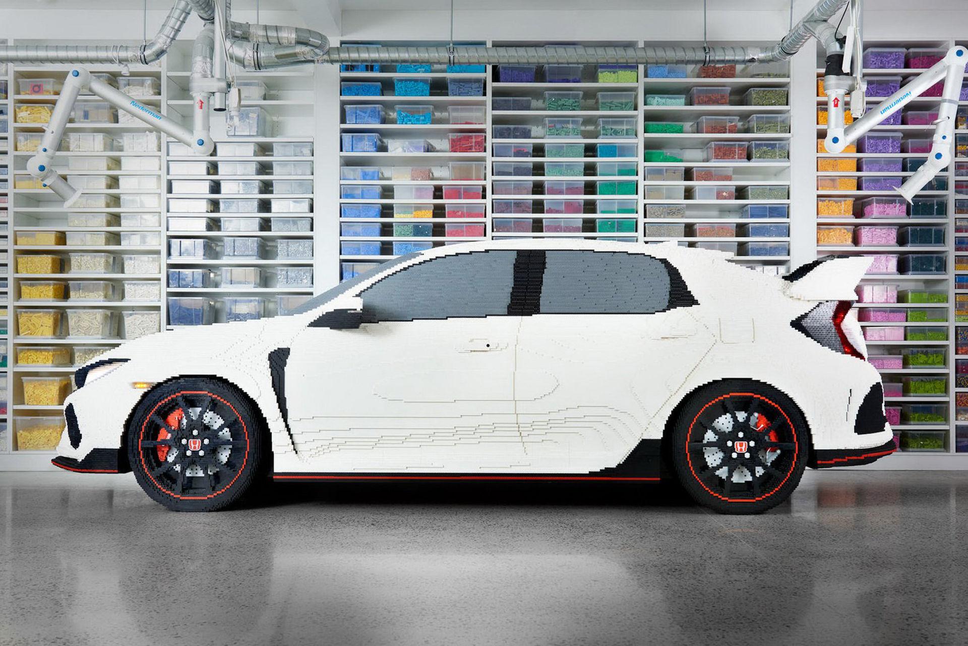 Honda Civic Type R i Lego