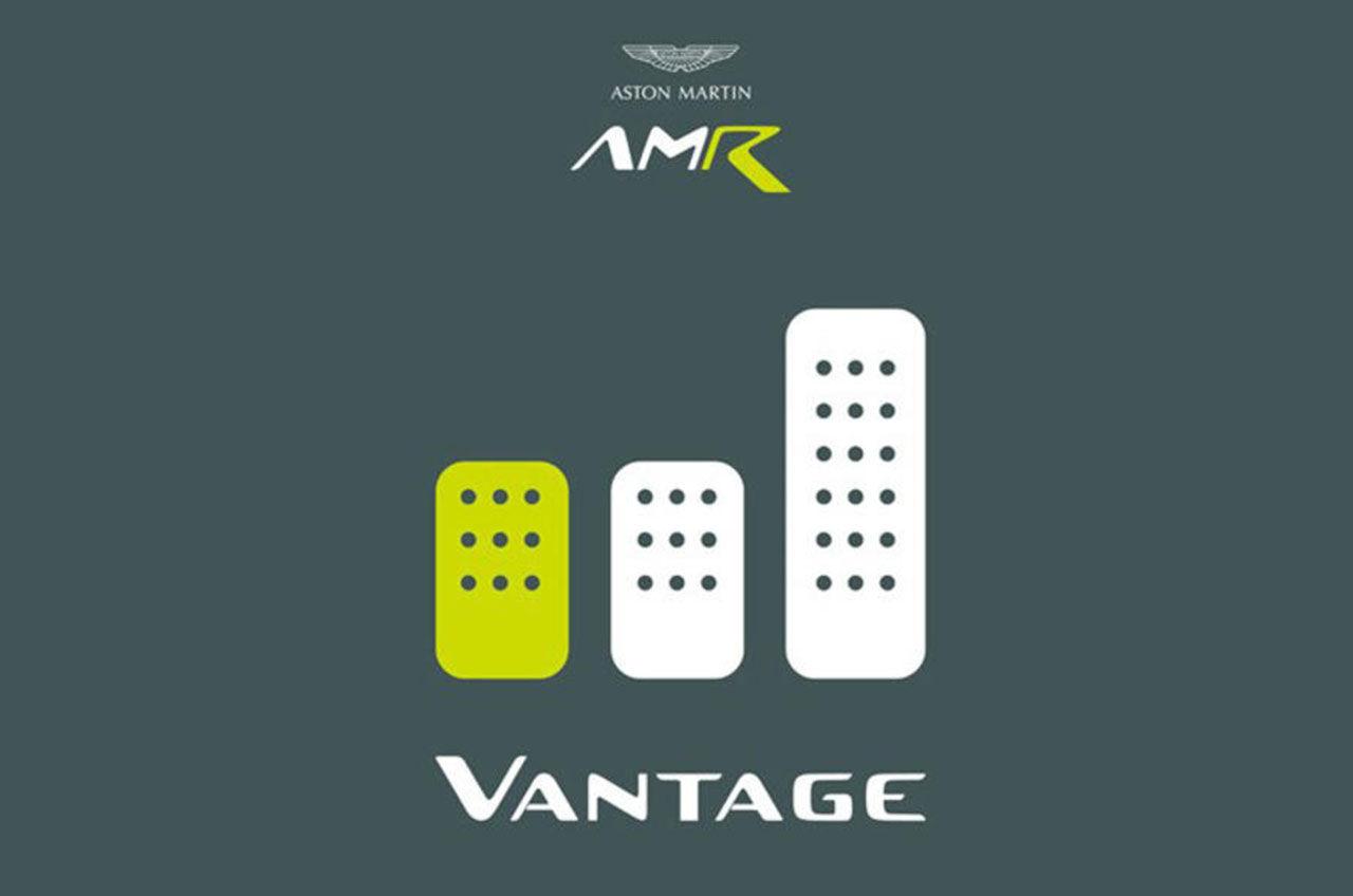 Aston Martin Vantage AMR får manuell låda