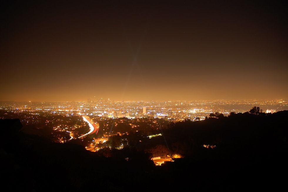 Självkörande bilar kanske kan minska ljusföroreningar