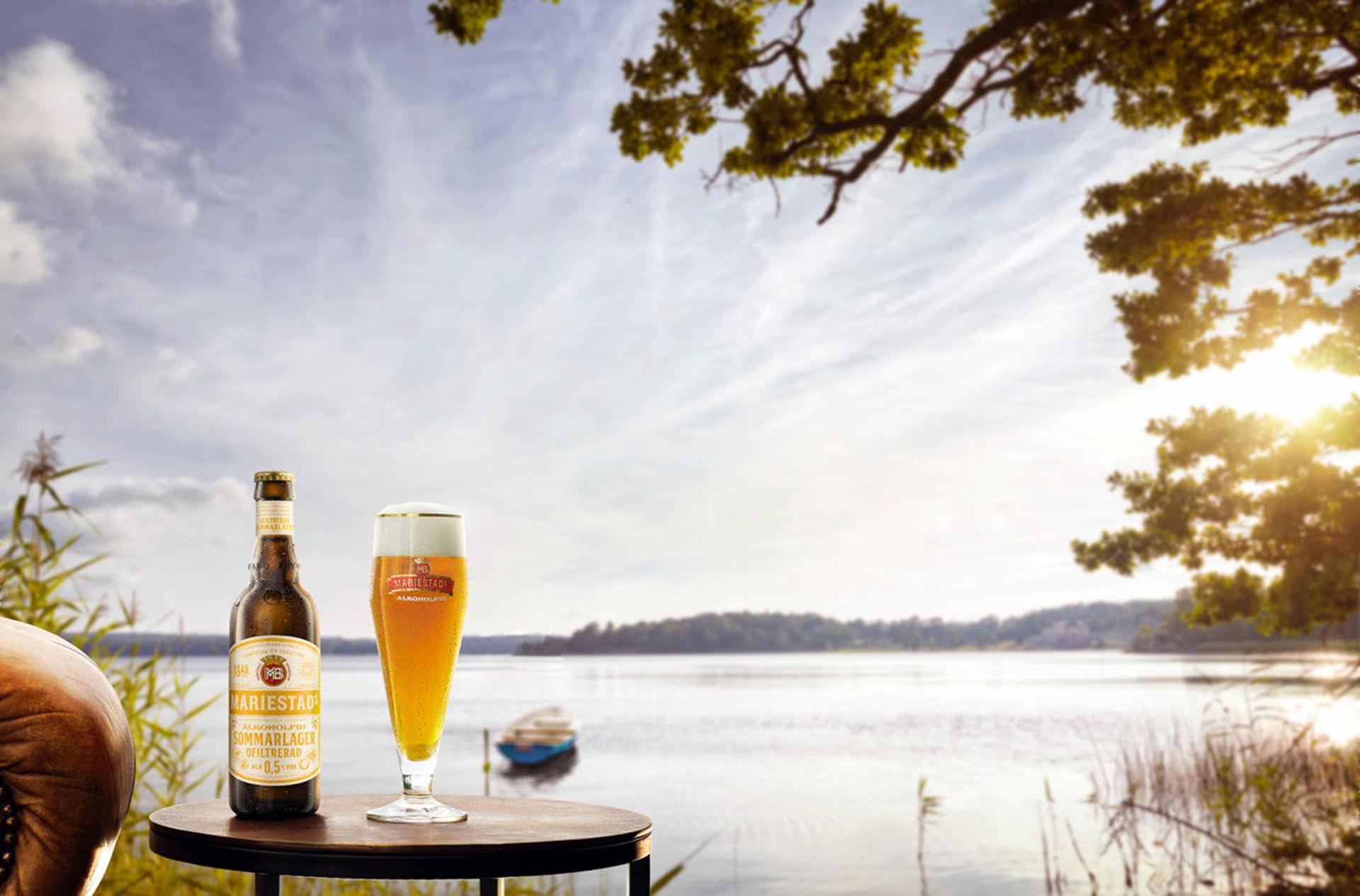 Nytt alkoholfritt öl från Mariestads